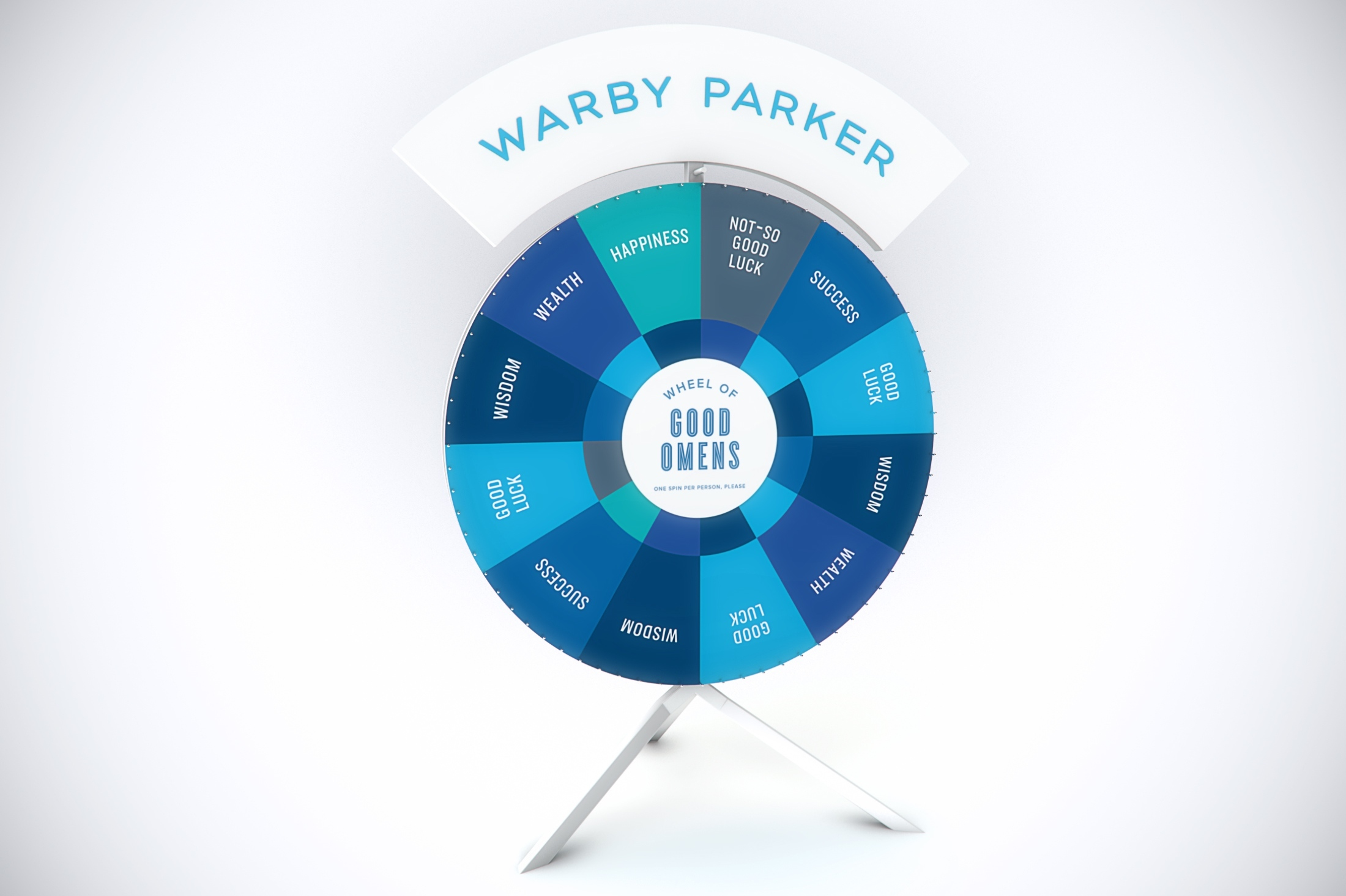 Warby Parker's Wheel of Good Omens