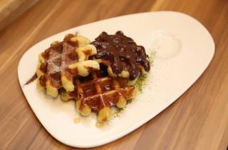 Madame Waffle World Waffle Day promotion