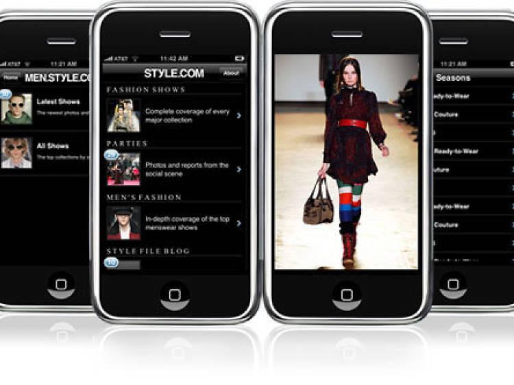 Style.com : Abécédaire couture