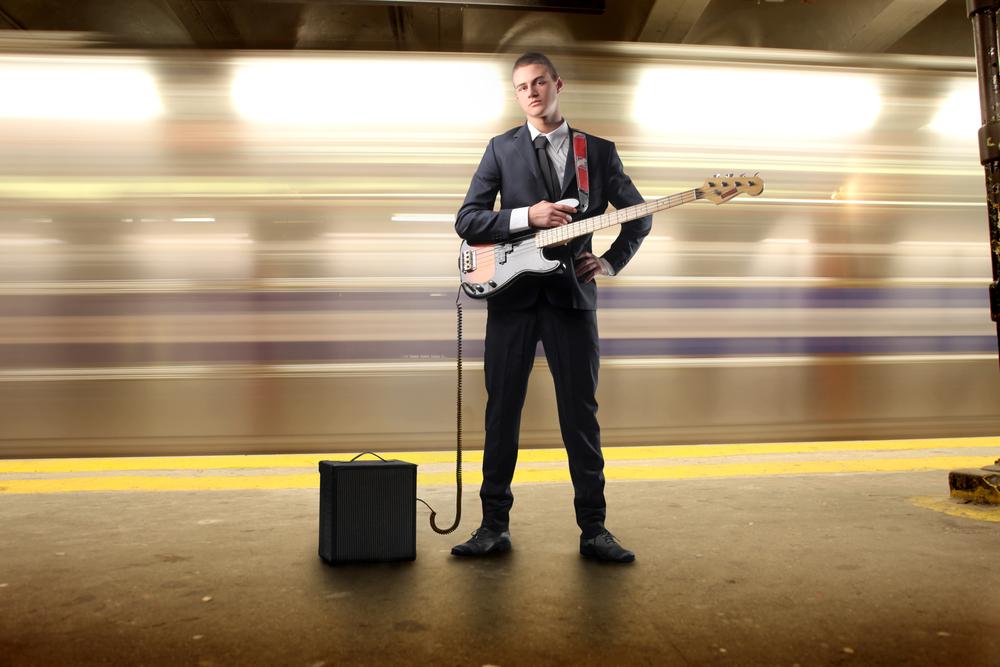Músic al metro