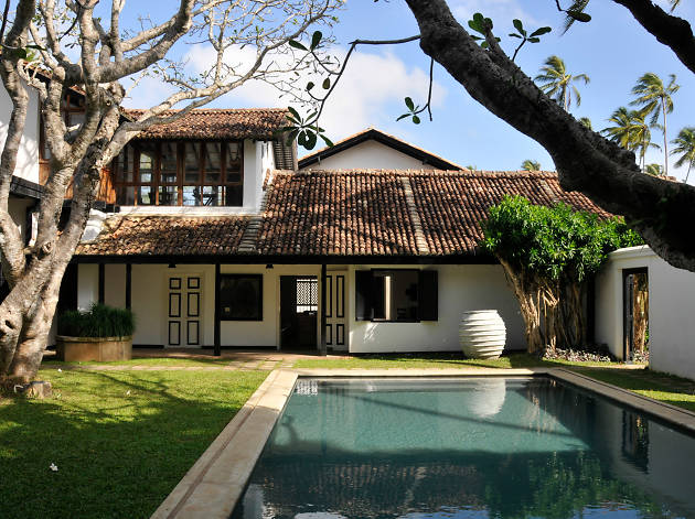 The Villa Bentota is a boutique hotel in Bentota