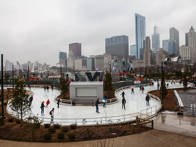 Maggie Daley Park Skating Ribbon