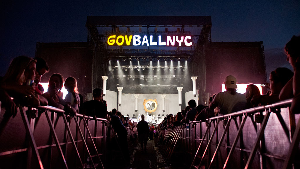 Your site map for the Governors Ball