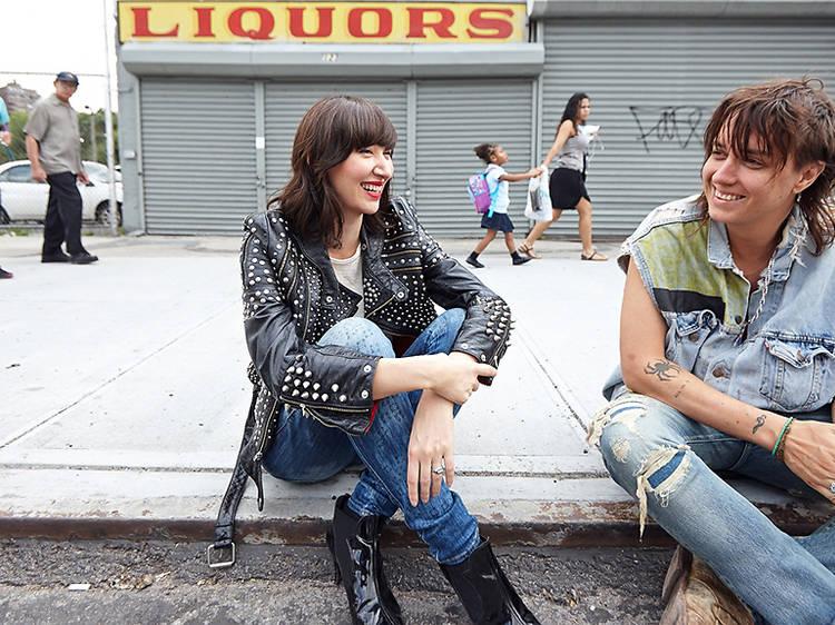 Julian Casablancas and Karen O