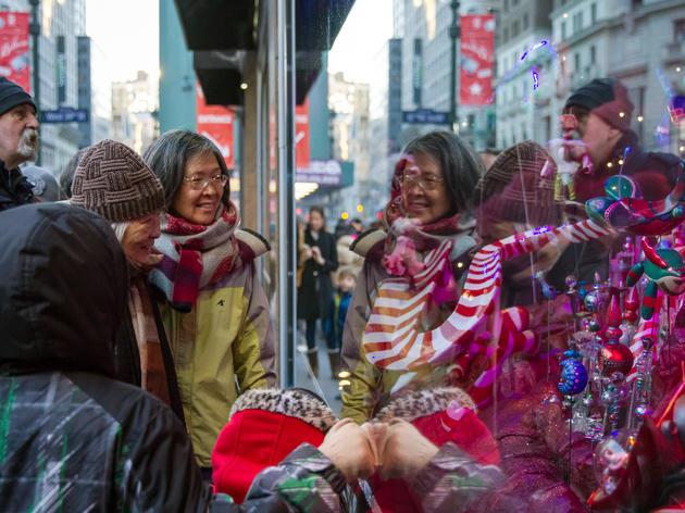 November 20, Macys unveils their holiday windows