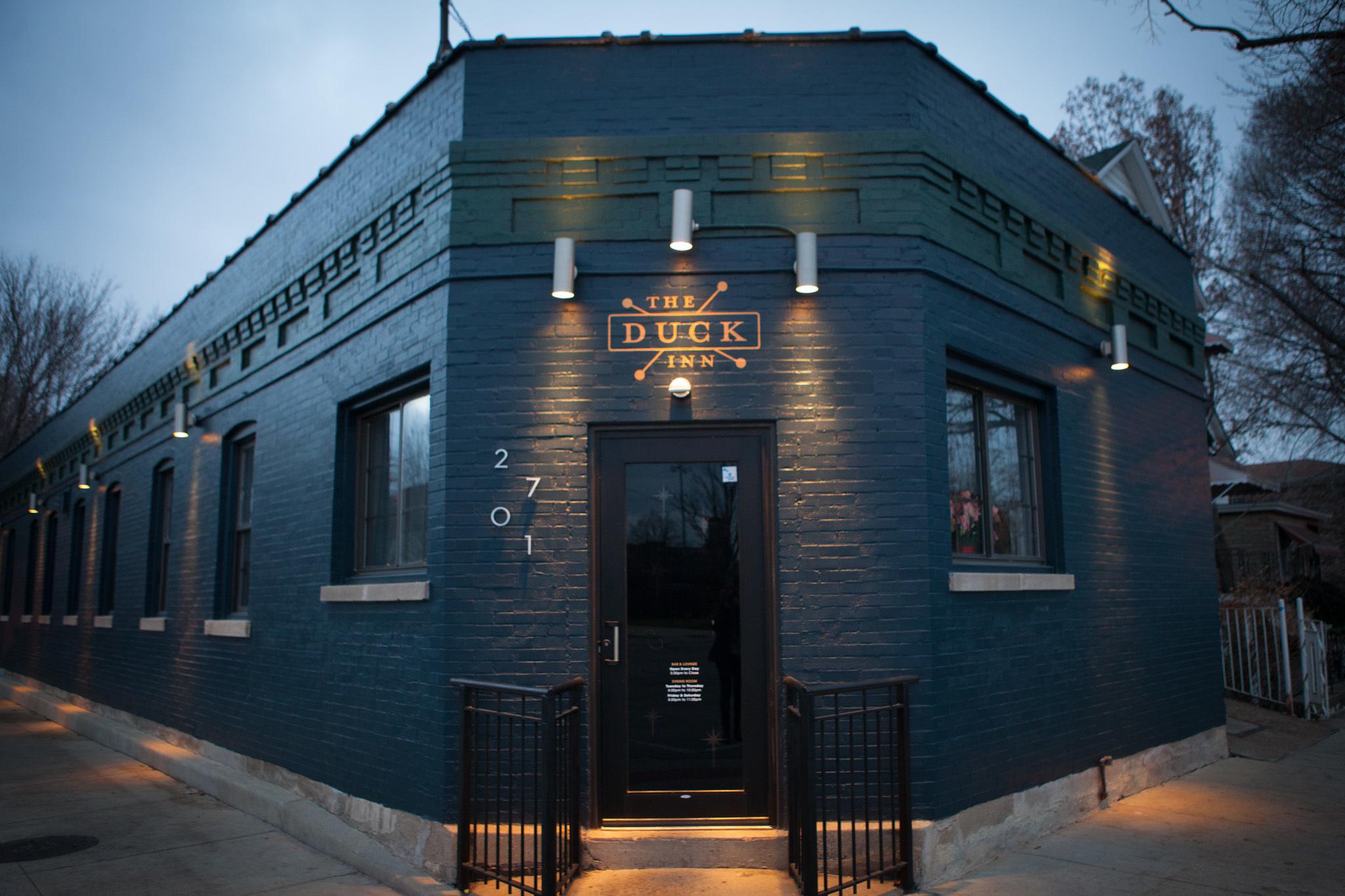 hef Kevin Hickey opened Duck Inn in his Bridgeport neighborhood.