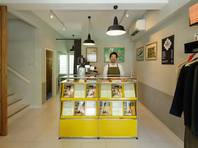 The Monocle Shop and Cafe