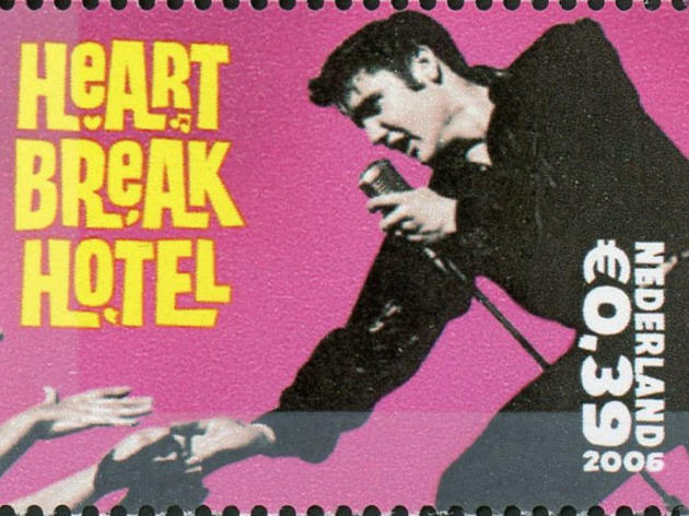 Elvis Presley - Netherlands stamp