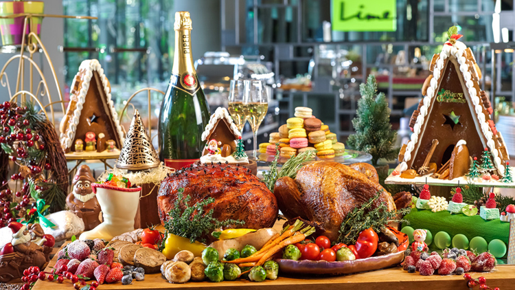 Top 10 Christmas lunches in Singapore