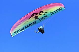 Paraglide in the Volta Region, Ghana