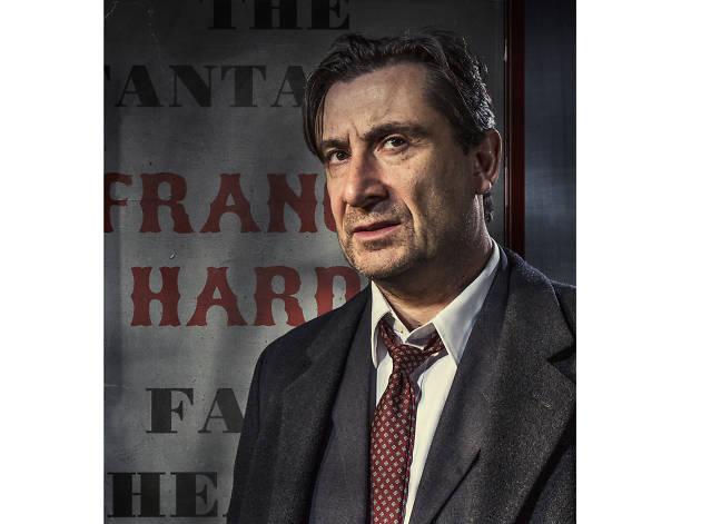 Sean O'Callaghan as Francis Hardy in Faith Healer, Lyceum Theatre