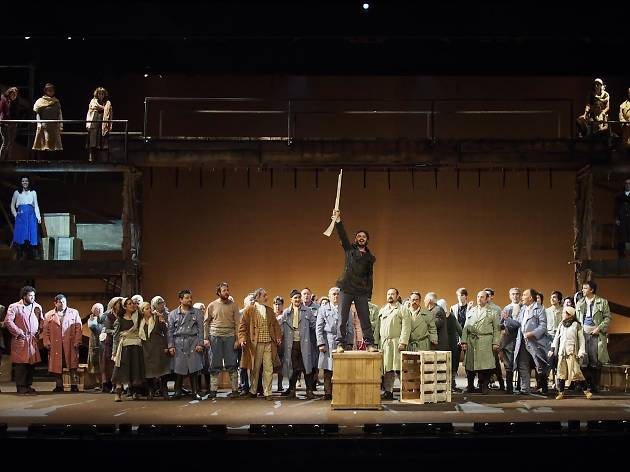 Fang i Setge. El musical de 1714