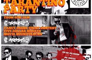 Tarantino NYE party at Burger & Relish