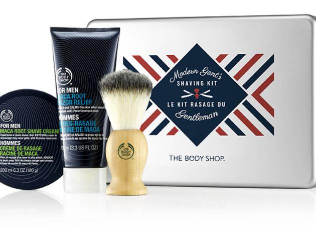 Modern gent's shaving kit