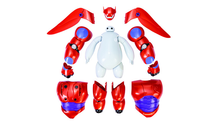 Armor-up Baymax (from 'Big Hero 6')