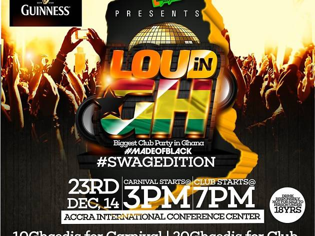 Loud in Ghana, International Conference Centre, Accra, Ghana
