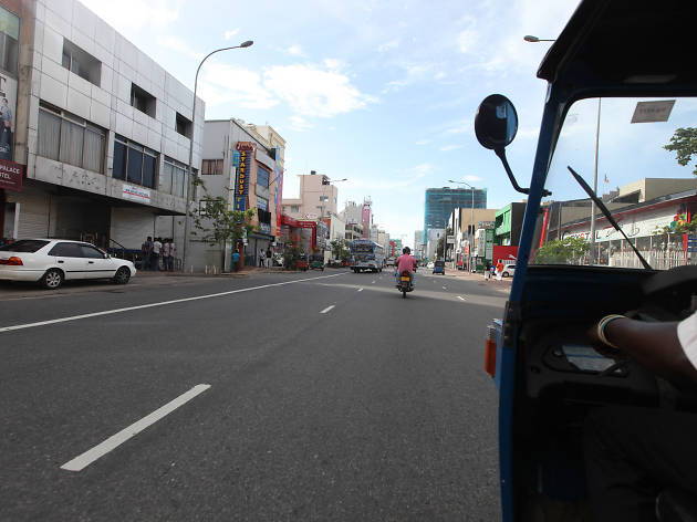 Take a 'tuk tuk' ride around the city