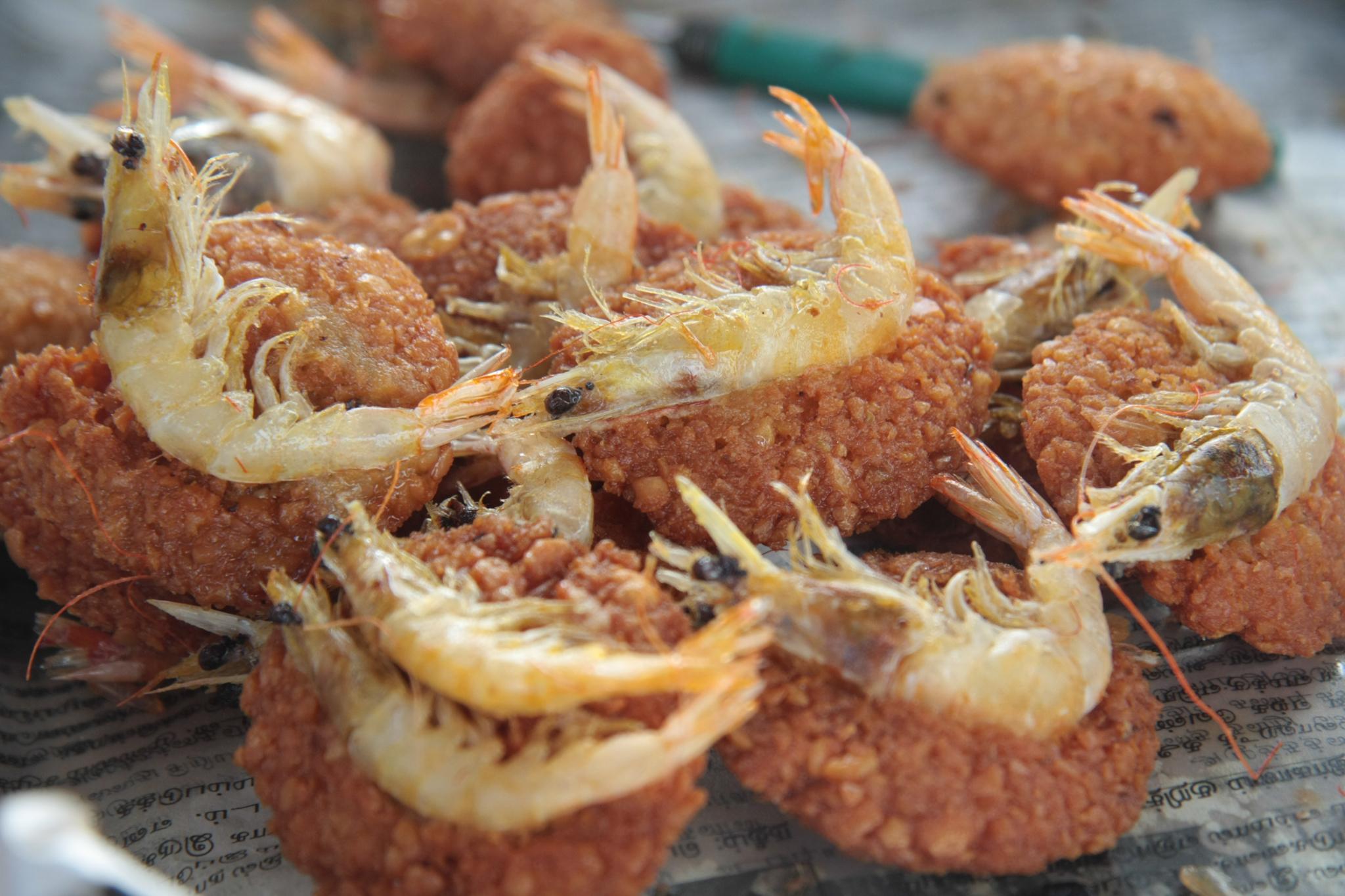 Isso Vade is a popular street food in Sri Lanka