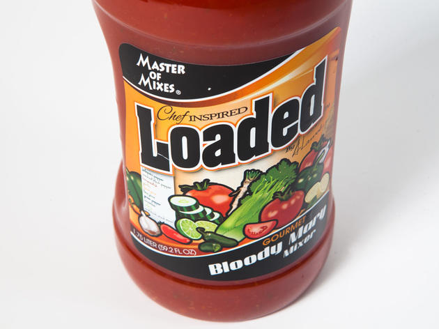 Loaded bloody mary mixer