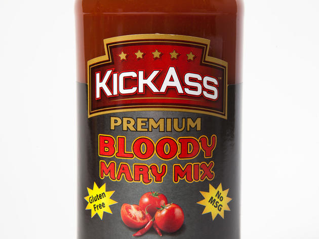 Kickass thick & spicy bloody mary mix