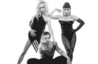 Joey Arias, Raven O and Sherry VIne: Bar d'O Reunion