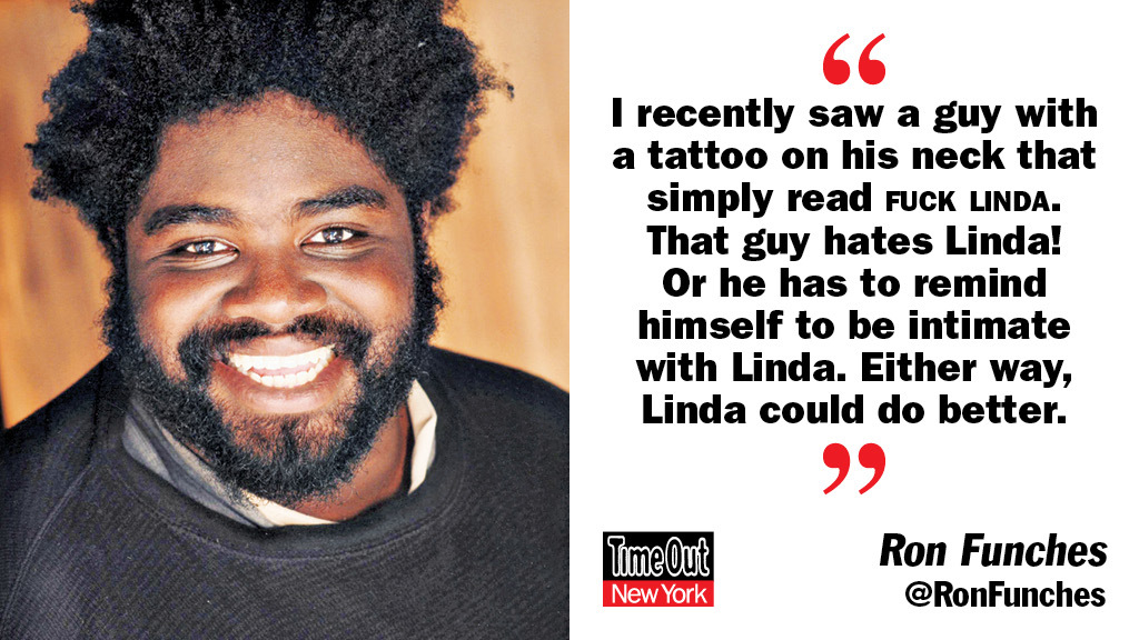 Joke of the week, Ron Funches