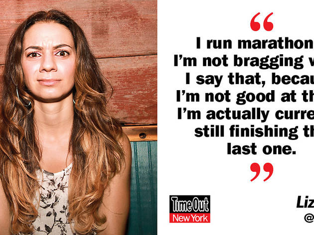 Joke of the week, Liz Miele