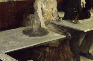 (Edgar Degas, 'Dans un café', dit aussi 'L'Absinthe', 1873 / © RMN-Grand Palais (Musée d'Orsay) / Hervé Lewandowski)