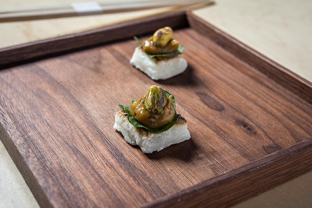 SHUKO mochi pistachio starter