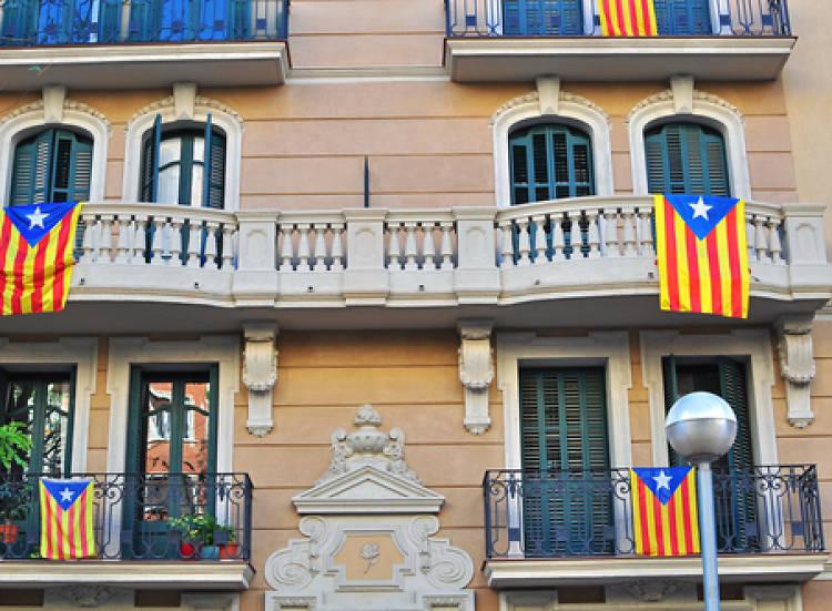 Reforça la bandereta del balcó