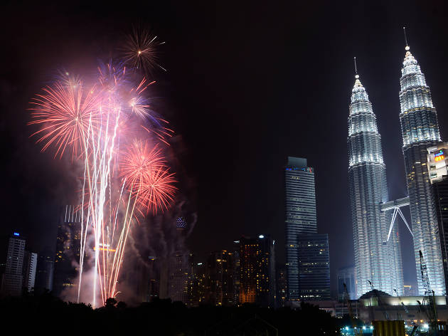Where to watch New Year's Eve fireworks in KL