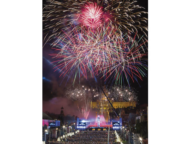 Barcelona's official New Year's Eve party 2015