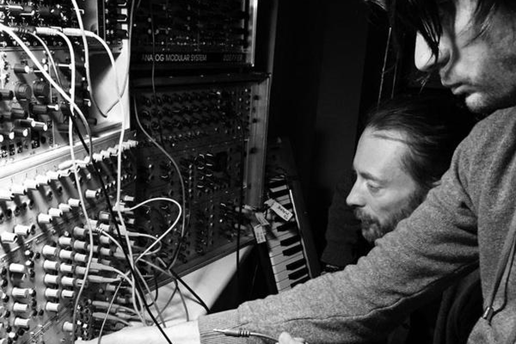 Radiohead works on its ninth studio album.