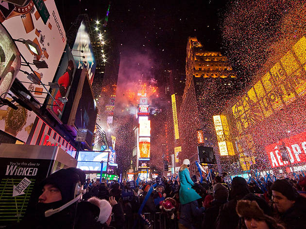 2013, New Years Eve in Times Square