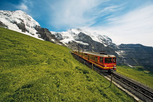 Jungfraujoch railway statoin