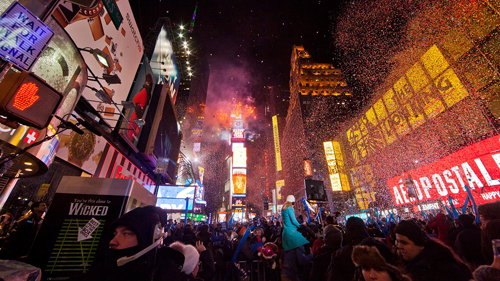 Times Square New Year's Eve 2017 guide