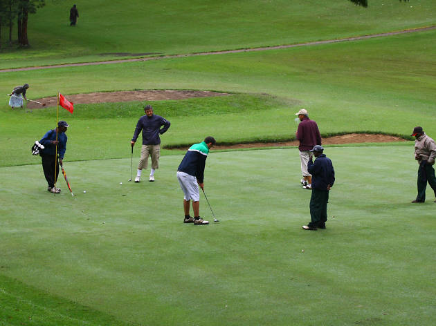 Nuwara Eliya Golf Club is a golf course in Nuwara Eliya