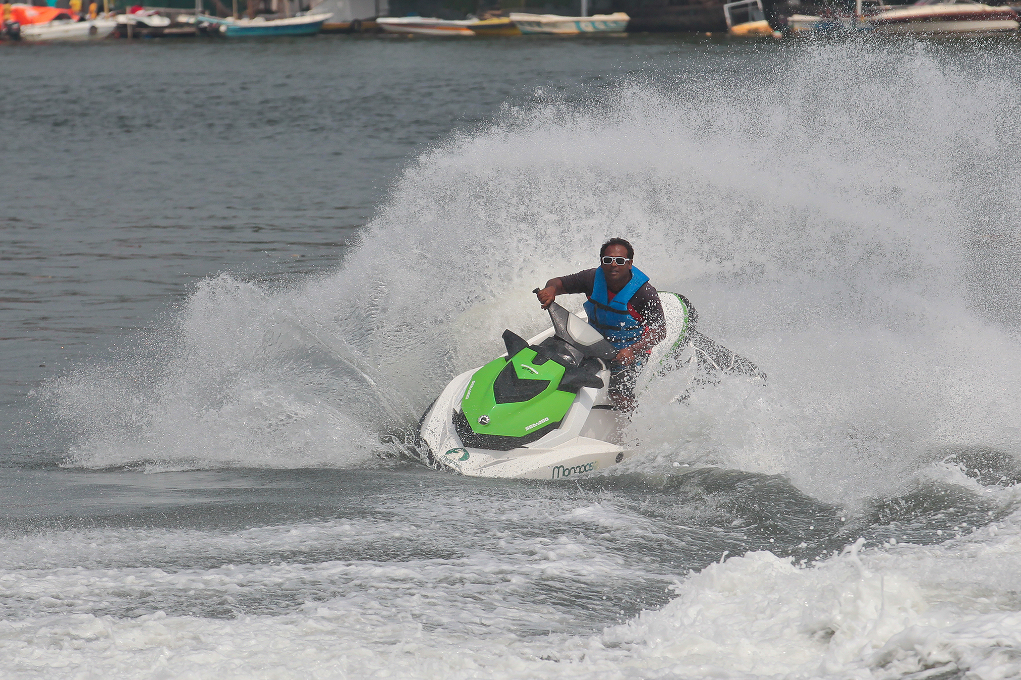 Jet Skiing in Bentota