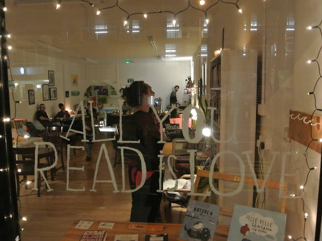 All You Read is Love pop-up bookshop and cafe