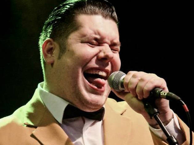 Agustí Burriel sings Frank Sinatra