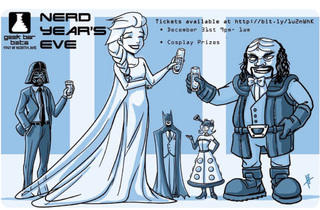 Nerd Year's Eve at Geek Bar