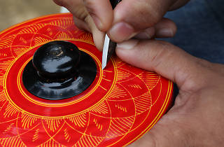 Lacquer work is a form of craft in Sri Lanka