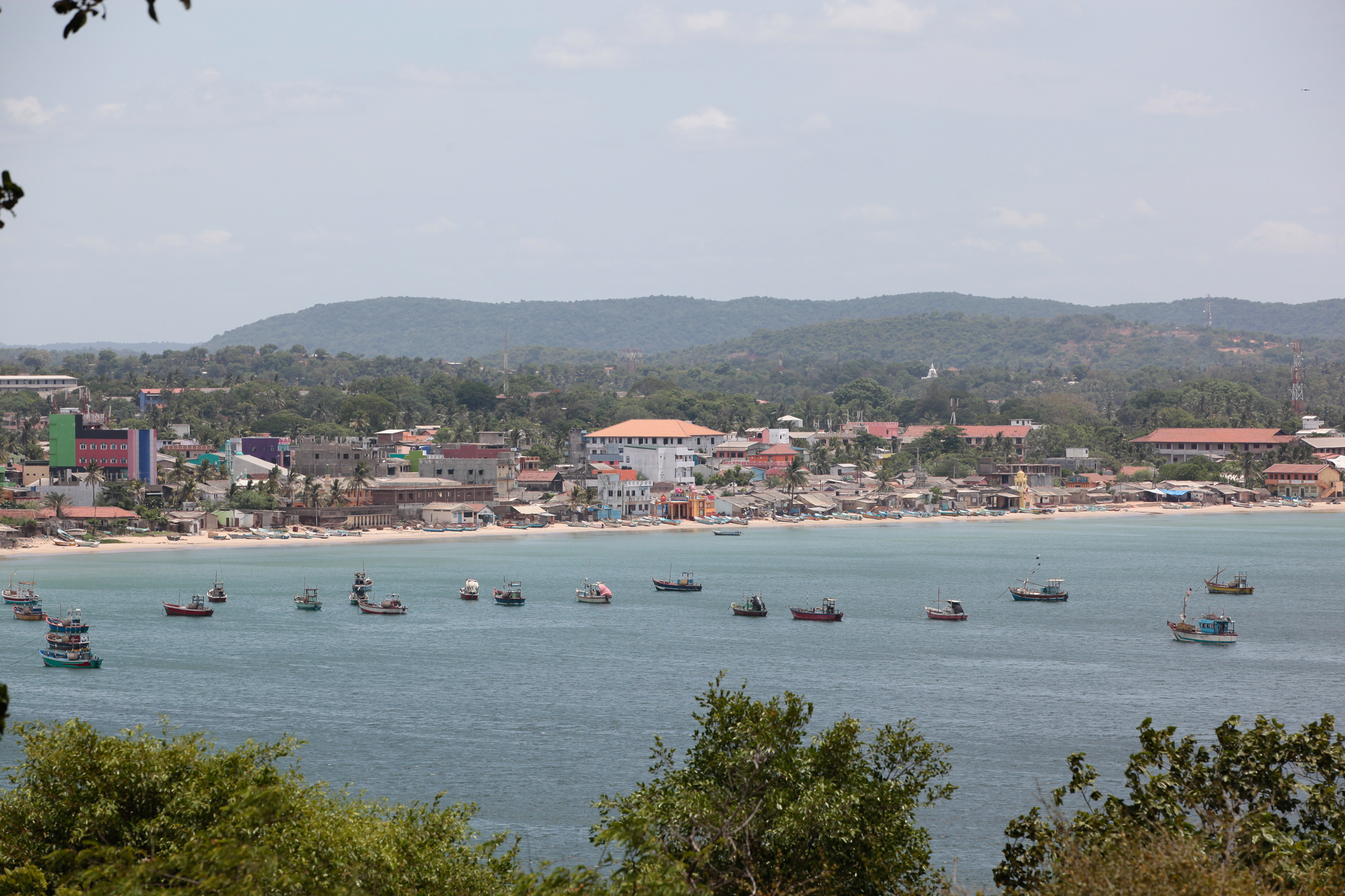 Trincomalee is a historical site in Sri Lanka