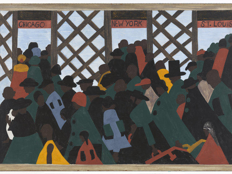 """""""One-Way Ticket: Jacob Lawrence's Migration Series and Other Visions of the Great Movement North"""""""