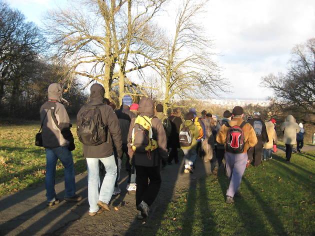 Winter Wanders free London walks