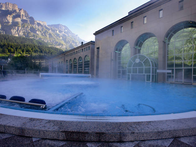 Walliser Alpentherme & Spa •  Leukerbad