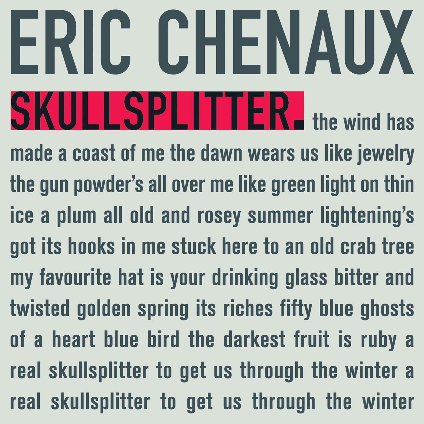 Eric Chenaux • 'Skullsplitter'