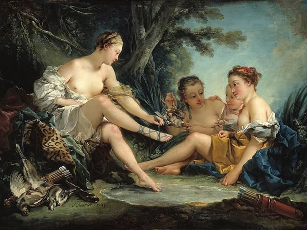 (François Boucher, 'Le Retour de chasse de Diane', 1745 /  © Musée Cognacq-Jay / Roger-Viollet  )
