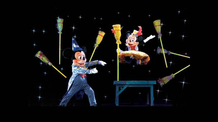 La magia de Mickey Mouse