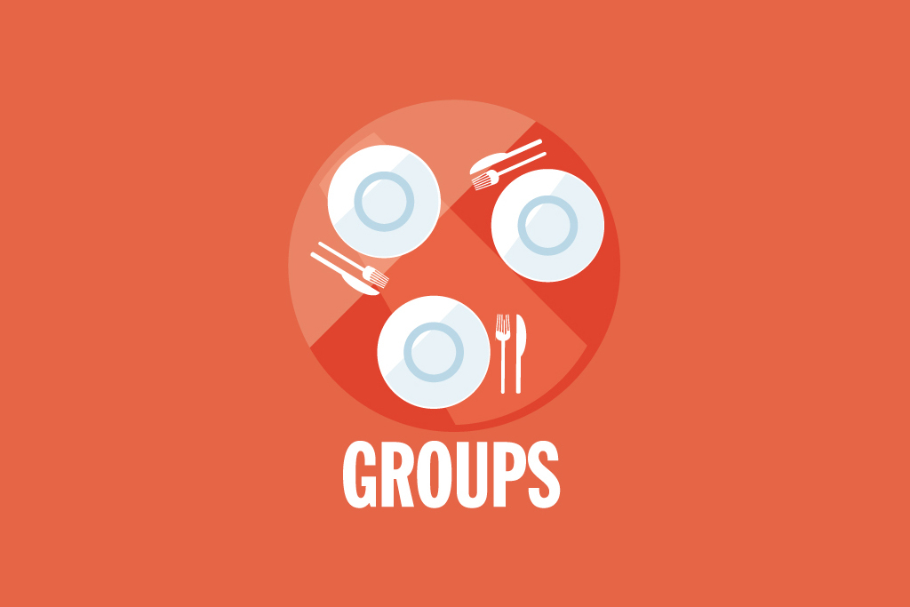 For groups